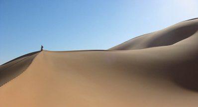 Au cœur des dunes de Libye