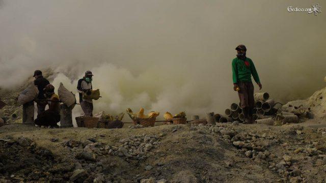 Indonésie #4 – Java et ses Volcans : l'Ijen et sa soufrière