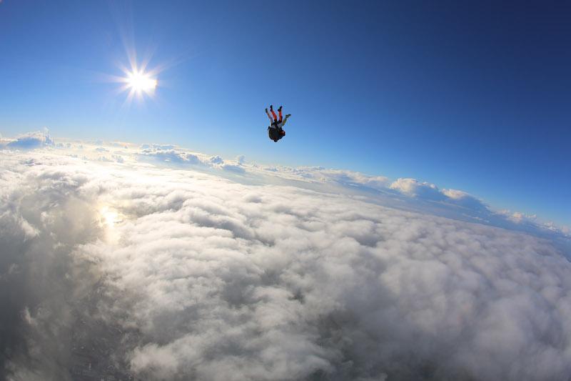 Le saut en parachute ! Oser se lancer dans le vide