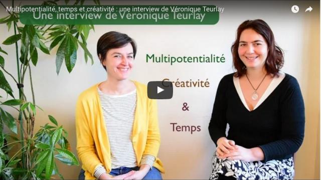 Une interview de Véronique entre multipotentialité, temps et créativité