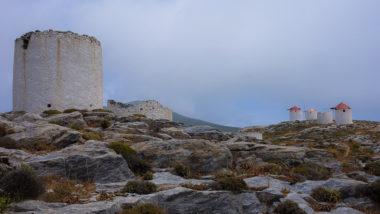 Les moulins de Chora - Amorgos - Grèce