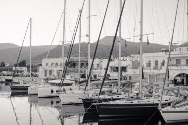 Vue du port de Katapola - Amorgos - Grèce