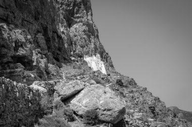 Vue du monastère de Panagia Hozoviotissa - Amorgos - Grèce