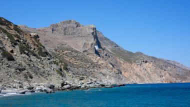 Vue du monastère de Panagia Chozoviotissa - Amorgos - Grèce