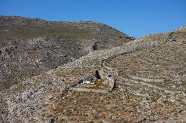 Paysage du nord d'Amorgos - Cyclades - Grèce