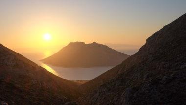 Paysage d'Amorgos, l'île de Nikouria - Cyclades - Grèce
