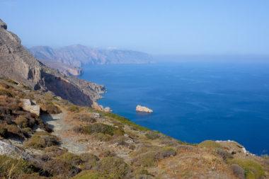 Amorgos, la vue est de l'île