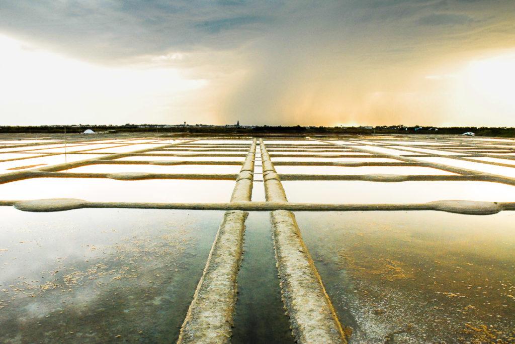 Quand les Marais Salants de Guérande crée un superbe chemin !