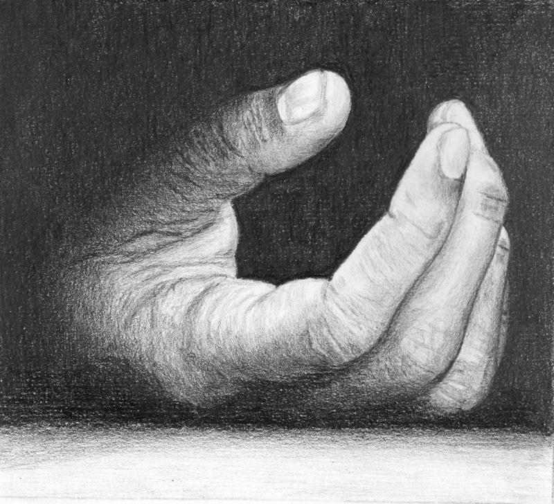 sens toucher et sensibilite etude main
