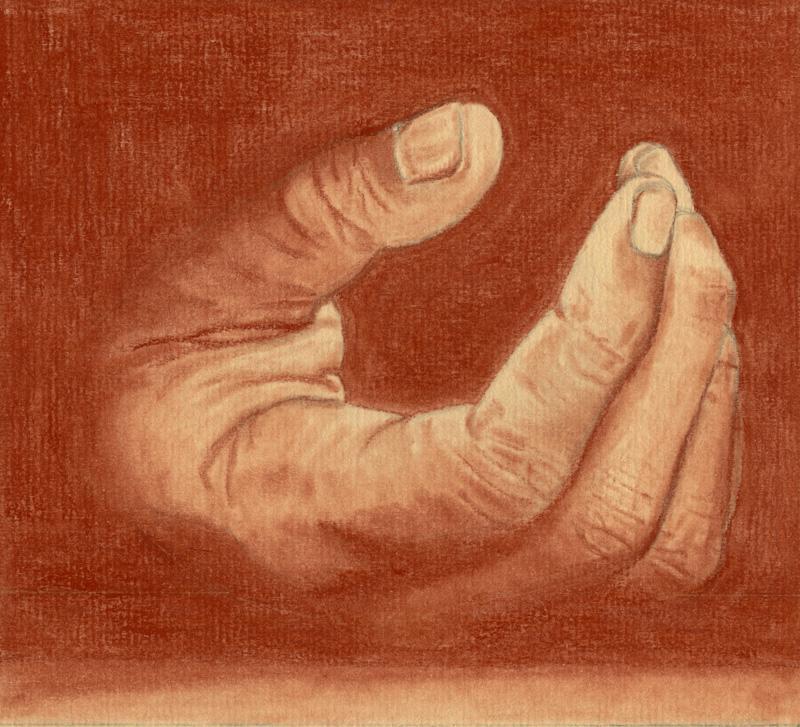 Reprendre contact avec nos sens toucher et sensibilit travers l 39 tude d 39 une main - Dessin de la main ...