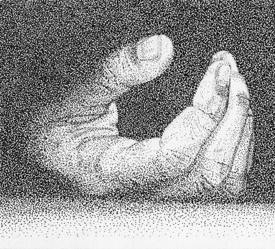 dessin de main au feutre