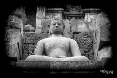 Bouddha de Borobudur, Java, Indonésie