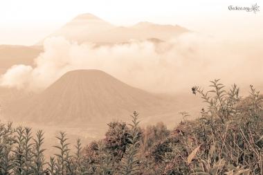 Caldeira du Tengger, vue du Gunung Penanjaken, mont Bromo, Java, Indonésie