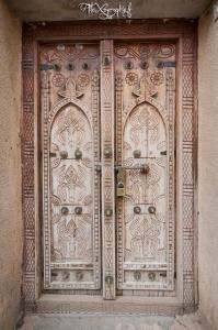 Porte omanaise stylé