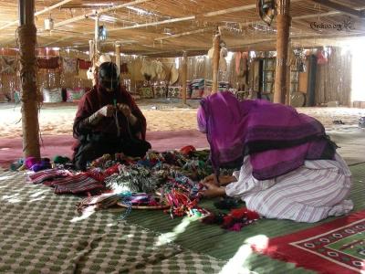 Tente bédouine à Wahiba Sands