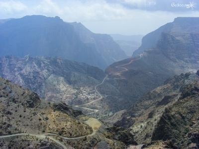 montagne à Jabal al Akhdar
