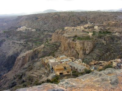 vieux villages à Jabal al Akhdar