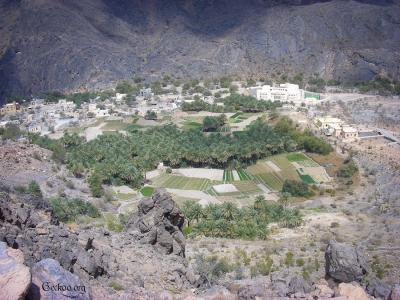 village à Wadi Bani Awf