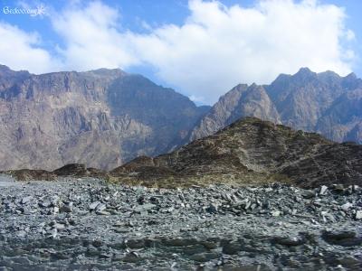 montagne à Wadi Bani Awf