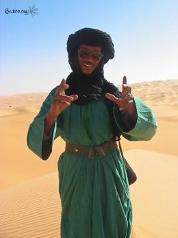 Albaca notre guide - désert de Libye